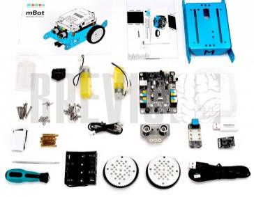 Набор MakeBlock mBot v1.1 - Blue (Bluetooth-версия)